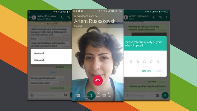 Illustration for article titled WhatsApp Starts Testing Video Calling For Beta Users
