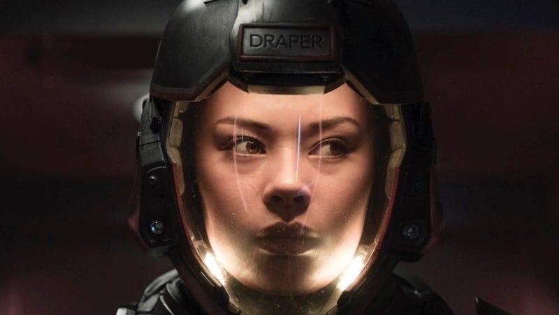 Frankie Adams as Martian badass Bobbie Draper.