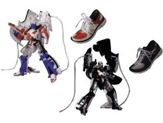 Illustration for article titled Transformer Shoes!