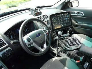 Illustration for article titled Ford Interceptor Utility Interior
