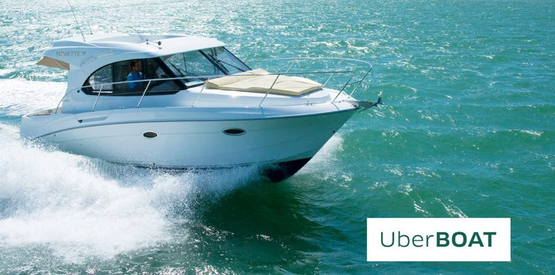 Illustration for article titled UberBoat Quietly Launches in Istanbul