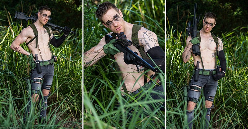 Illustration for article titled A Different Kind Of Sexy Metal Gear Cosplay