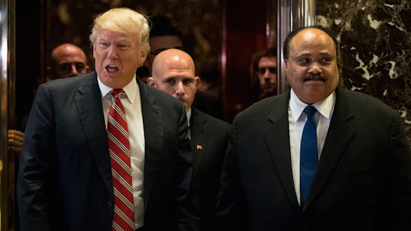 Martin Luther King III Calls His Meeting With Donald Trump 'Constructive'