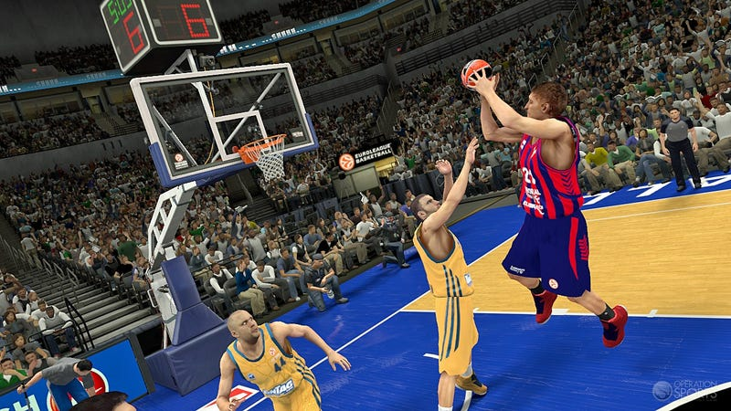 Illustration for article titled International Hoops Returns to Video Games with Euroleague in NBA 2K14