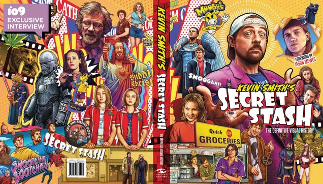 Exclusive: Kevin Smith Showcases His Nostalgic, Nerdy Career in a New Coffee Table Book