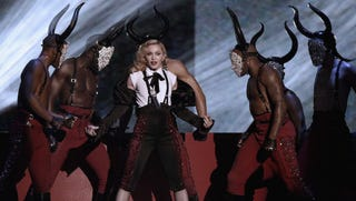 Illustration for article titled Madonna Fights Tyranny of Instagram by Posting Photo on Instagram