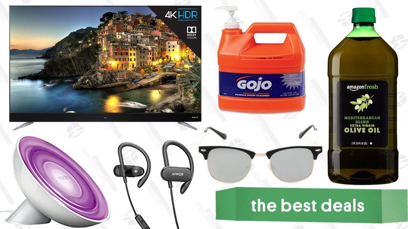 Illustration for article titled Sunday's Best Deals: Sunglasses, Olive Oil, Philips Hue Lights, and More
