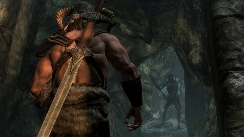 Illustration for article titled Skyrim's Official High Resolution Texture Pack Makes Your Dovahkiin Sexier Than Ever