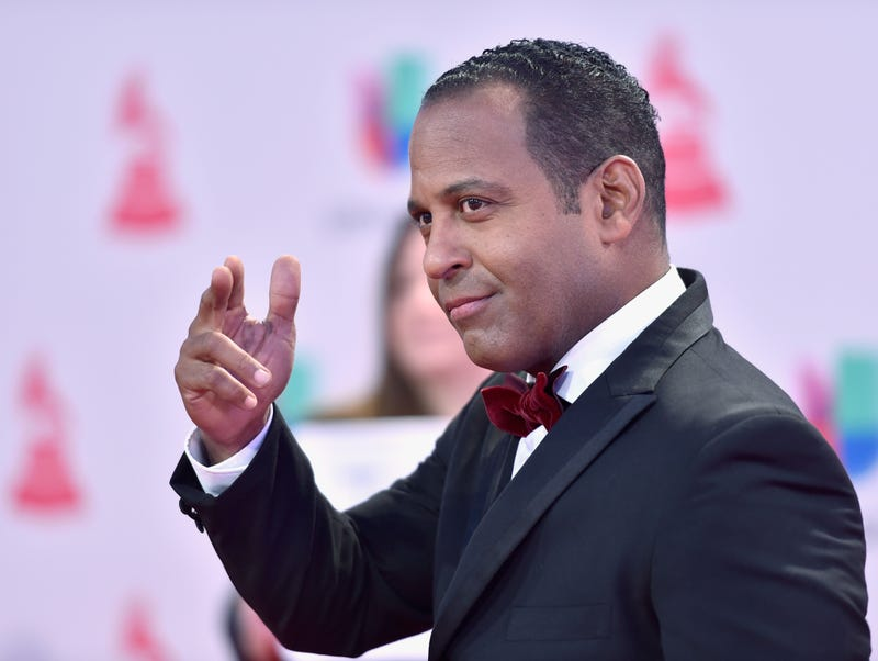 Univision journalist Tony Dandrades was honored at the first Afro-Latino Heritage Summit, held April 13-14, 2018, in Miami. Here, Dandrades is at the 16th Latin Grammy Awards in Las Vegas on Nov. 19, 2015.