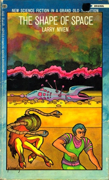 Illustration for article titled Box Of Paperbacks Book Club: The Shape Of Space by Larry Niven (1969)