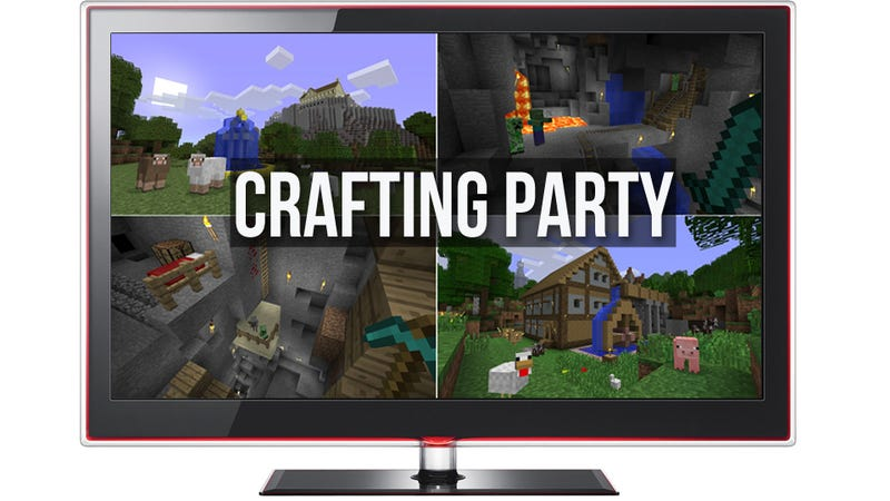 Illustration for article titled Xbox 360 Split-Screen Offers a New Way To Play Minecraft