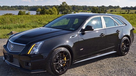 This 2007 Cadillac CTS-V Has Only 108 Miles