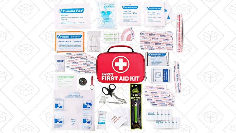 130 Piece First Aid Kit, $17 with code KQ6S7K95