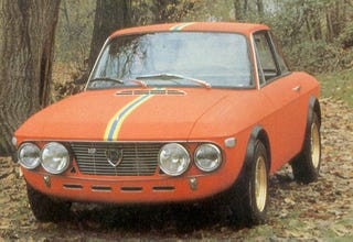 Illustration for article titled Luscious Lancia: The Fulvia HF