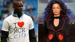 Illustration for article titled A Perfectly Zany Rebuttal To The Argument That Mario Balotelli Should Marry His Model Girlfriend