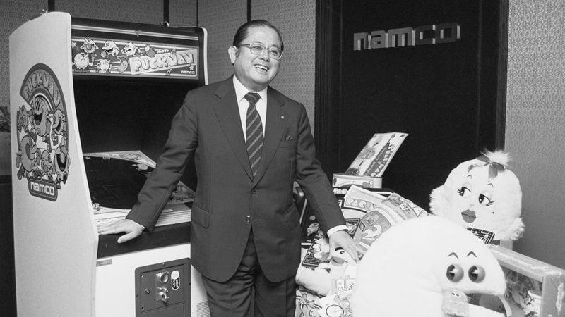 Masaya Nakamura in 1982 (Photo: Getty Images/Bettmann)