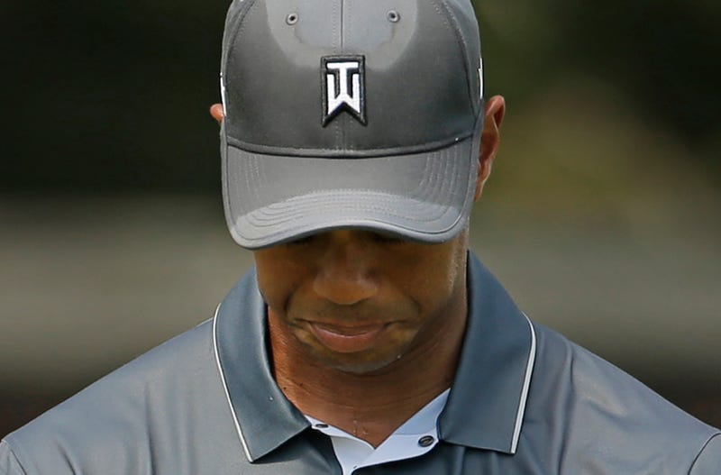 Illustration for article titled Tiger Woods Held A Fairly Grim Press Conference