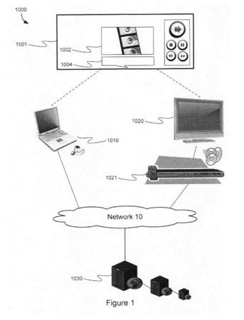 Illustration for article titled Apple Patent Application Describes Cloud-Based Media Playback Technology