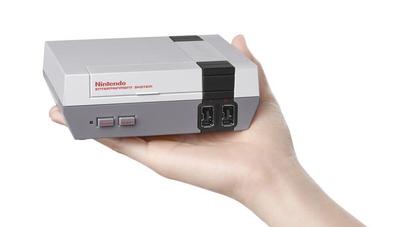 Illustration for article titled Vuelve la NES (en miniatura): se pondrá a la venta en noviembre con 30 videojuegos