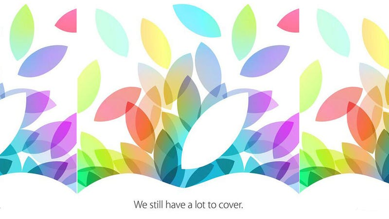 Illustration for article titled Apple confirma evento para el 22 de Octubre: llegan los nuevos iPad