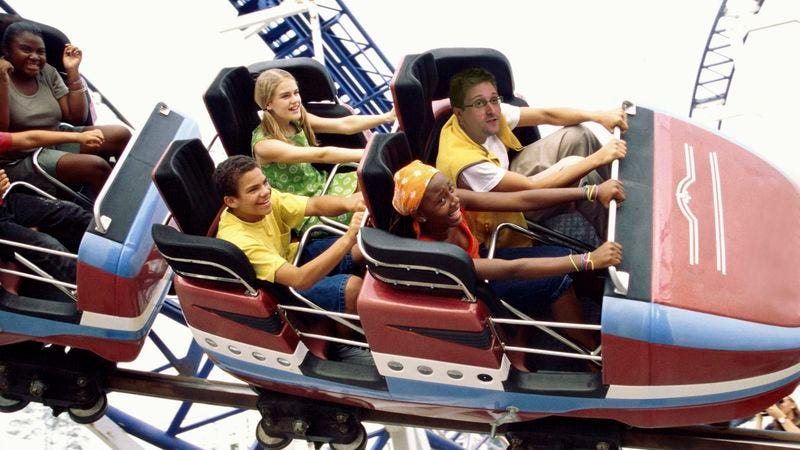Illustration for article titled Intelligence Failure: Edward Snowden Just Visited Busch Gardens And Returned To Russia Without Getting Caught