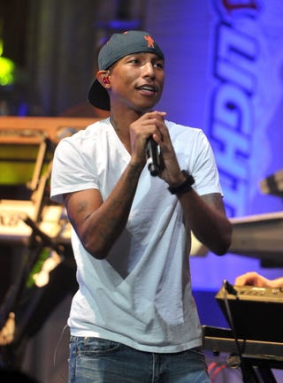 Pharrell Williams is opening a youth center in Virginia. (Getty)