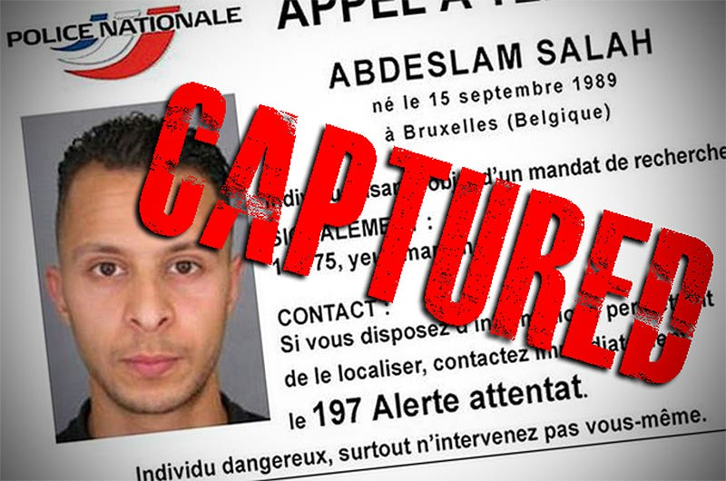 Illustration for article titled Suspected Paris Terror Attacks Mastermind Has Been Captured (Updated)