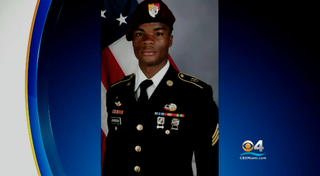 Army Sgt. La David Johnson was killed in a deadly ambush in southwestern Niger on Oct. 4, 2017. (CBS Miami screenshot)