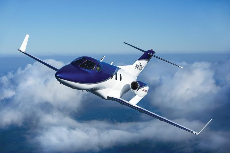 Illustration for article titled HondaJet delayed until 2013 due to engine test failure