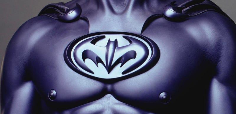 The infamous Bat-Nipples. Image: Warner Bros.