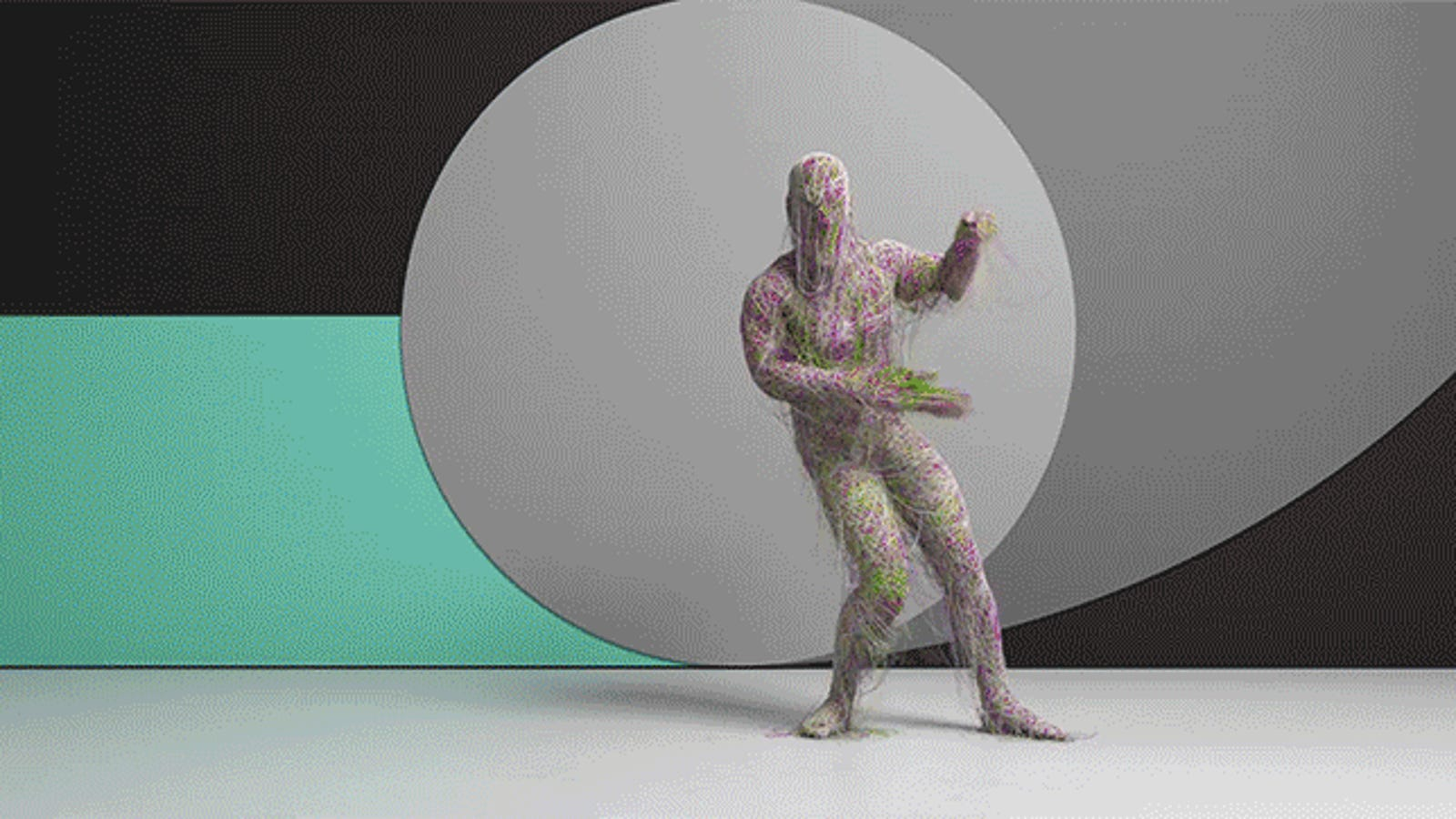 Otherworldly Animation Makes These Motion Captured Dance Moves Even More Amazing