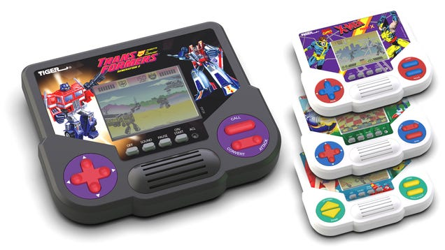 Hasbro Is Bringing Back Tiger Electronics  Handheld LCD Games