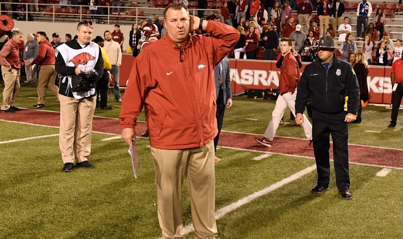 Bielema fired as head coach