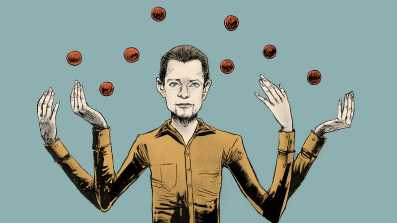 Illustration for article titled A Little Glimpse into the Juggling World