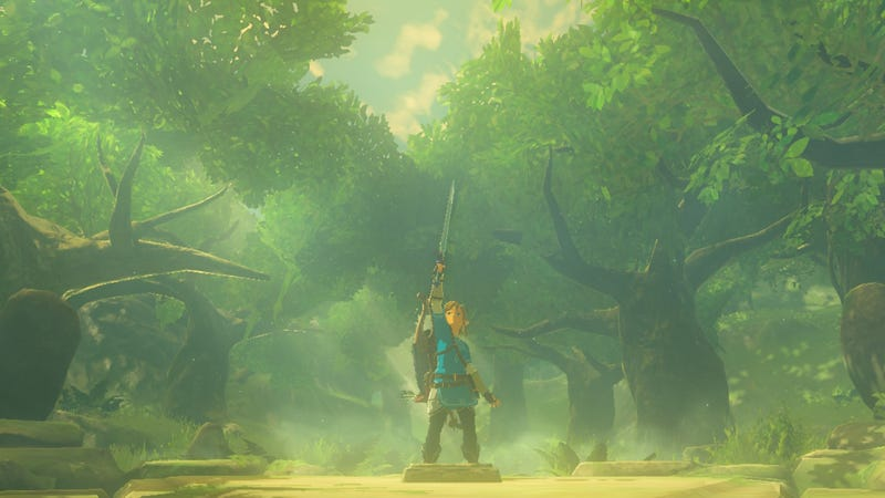 One can only dream of feeling like Link in Breath of the Wild.