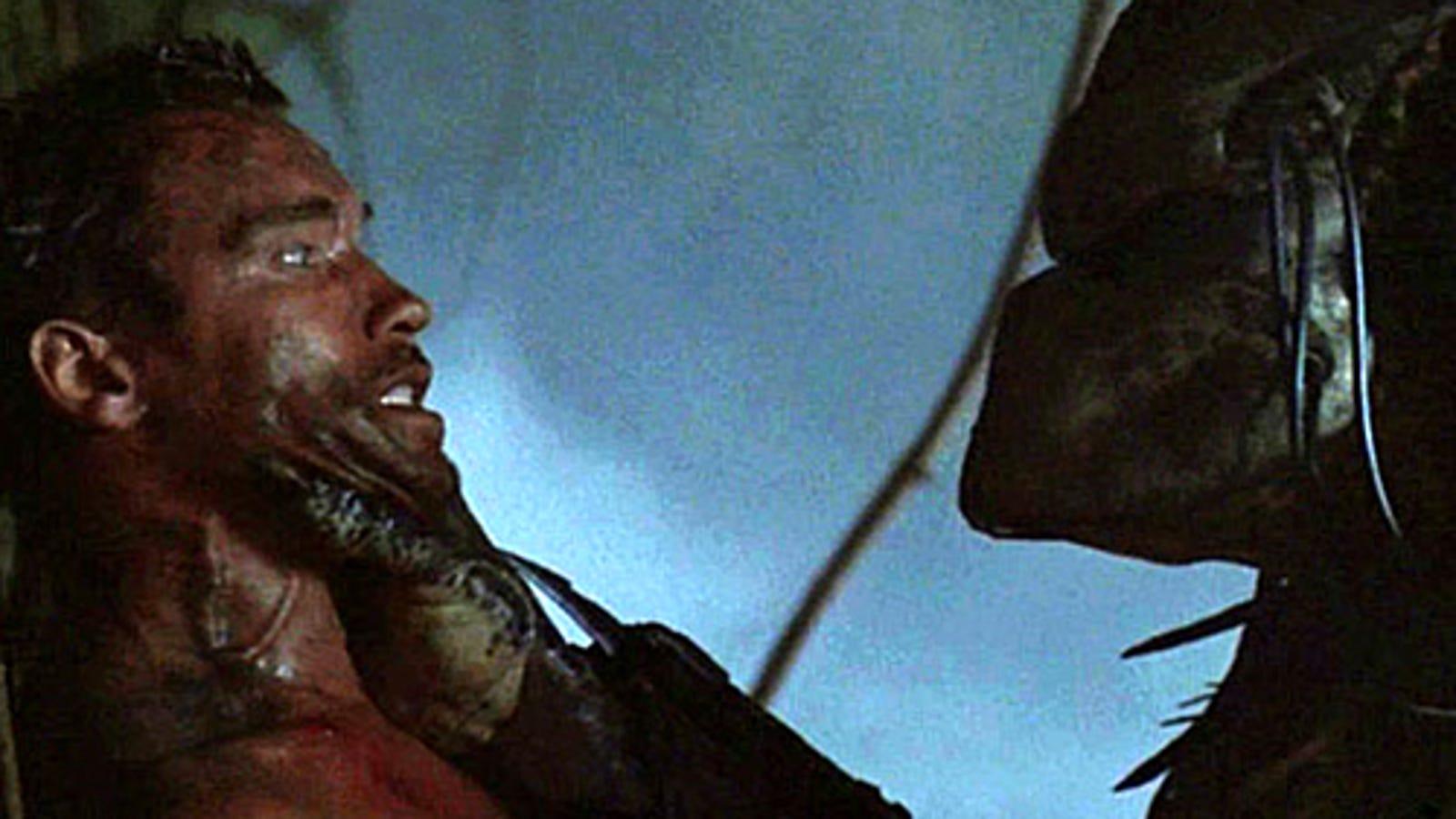 Predator: movie vs early script 99