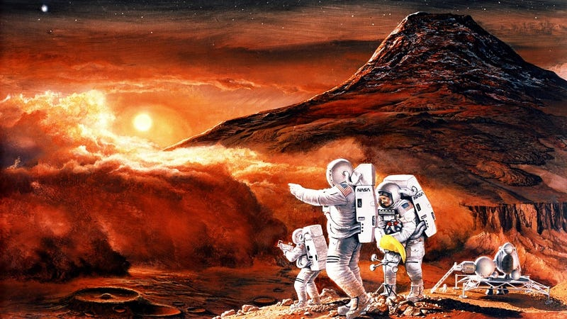 Illustration for article titled Most Americans predict humans on Mars by 2033, are utterly deluded about NASA's budget