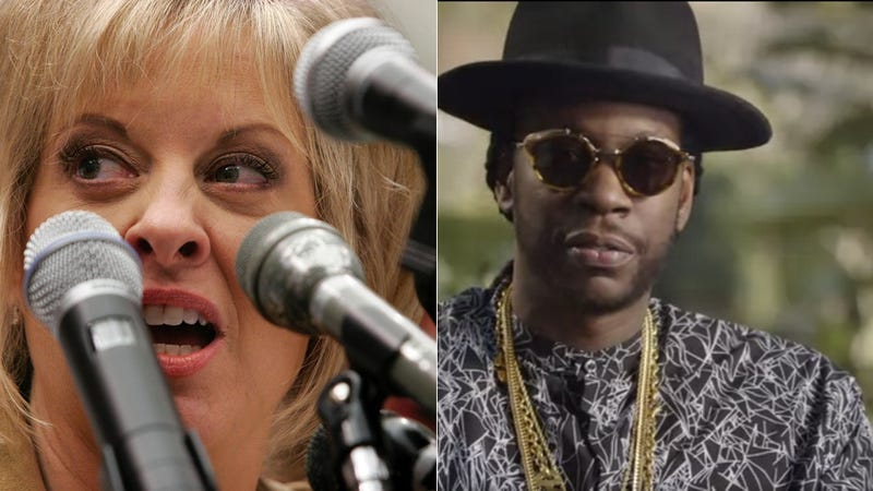 Illustration for article titled Nancy Grace and 2 Chainz's Pot Romance Continues Hot and Heavy