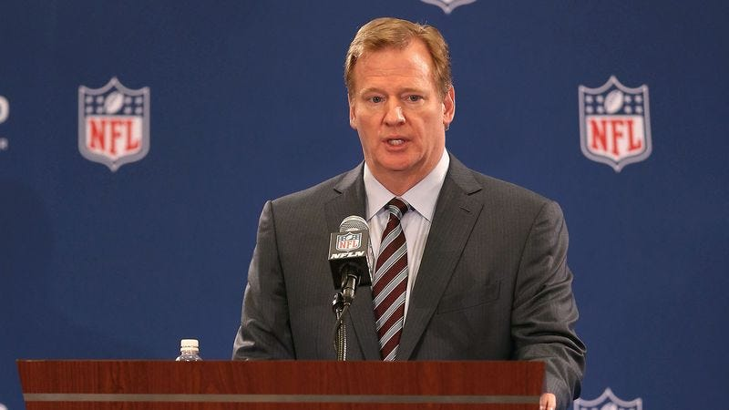 Illustration for article titled Goodell Assures Fans He Was Too Busy Dismissing Other Players' Assaults To Watch Ray Rice Tape