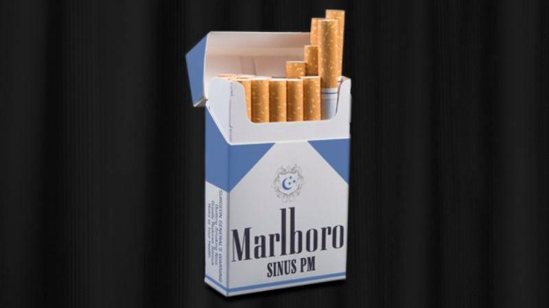 Illustration for article titled Philip Morris Introduces New Marlboro Sinus PM Cigarettes
