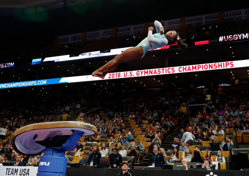 Illustration for article titled Simone Biles Swept All Five Titles At The National Championships