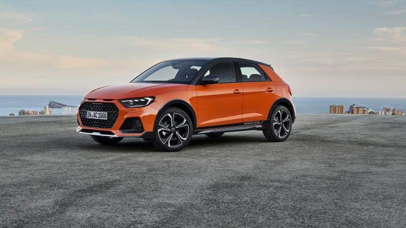 Illustration for article titled Audi's Smallest Crossover Is the Fantastically Named A1 Citycarver