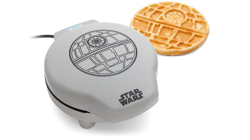 Illustration for article titled Do Death Star Waffles Taste Better Than Regular Waffles? Of Course They Do