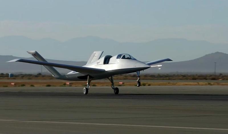 Illustration for article titled Este extraño caza experimental avistado en el desierto de Mojave podría ser el reemplazo del mítico A-10 Warthog