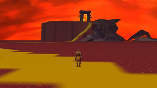 Illustration for article titled Very Early Screenshots Of World of Warcraft
