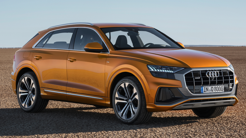 The 2019 Audi Q8 Boldly Shows Audi's Willingness To Make A Terrifyingly Ugly Car