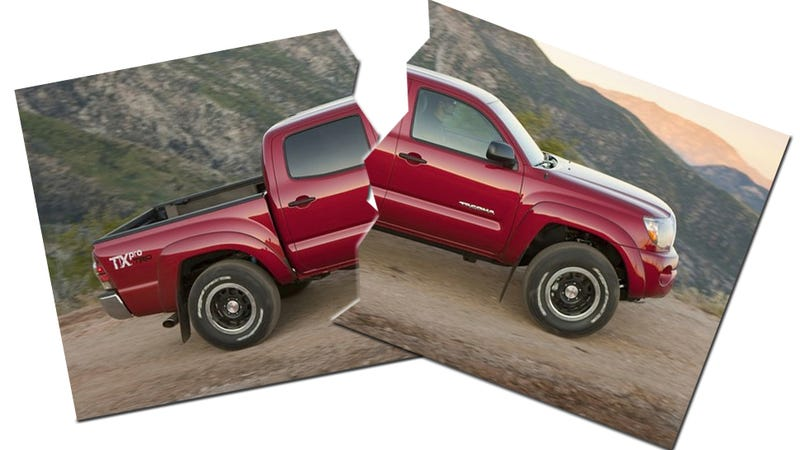 Illustration for article titled Toyota Tacoma Suspension 'Prone To Fracturing:' 690,000 Recalls