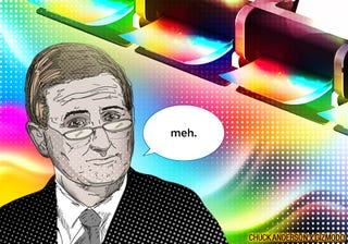 Illustration for article titled Wait—Who the Hell is Mark Hurd?