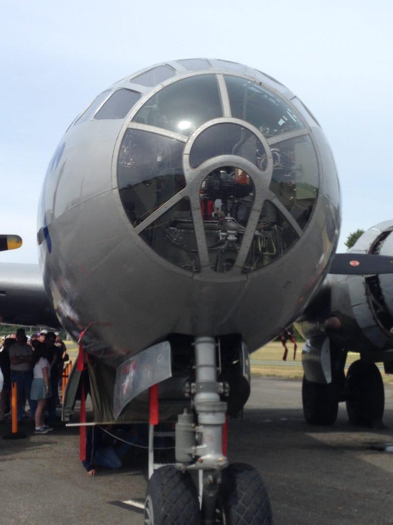Illustration for article titled B-29 FIFI BONUS Small Car Gathering