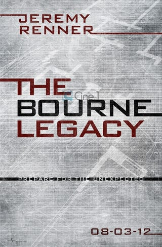 Illustration for article titled The Bourne Legacy Poster